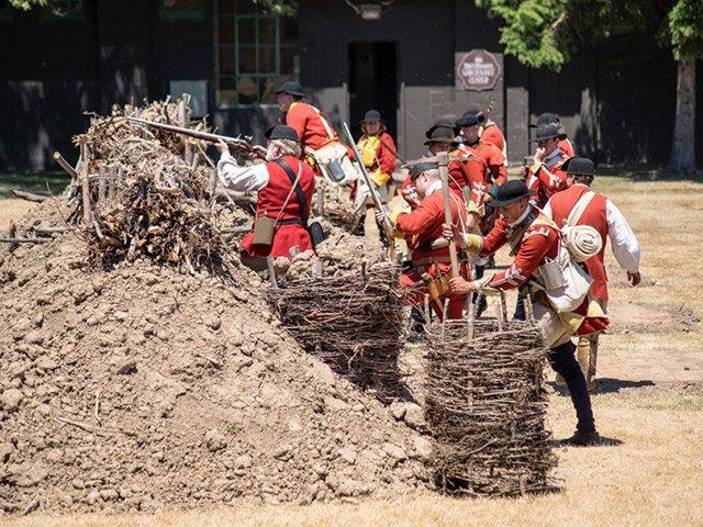 British in Battle Demonstration