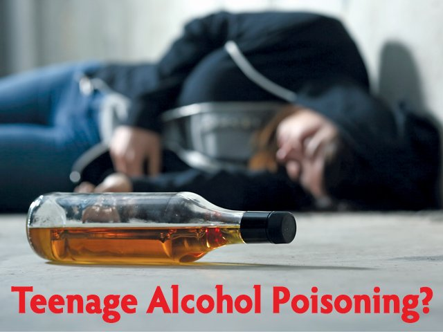Teen Alcohol Poisoning