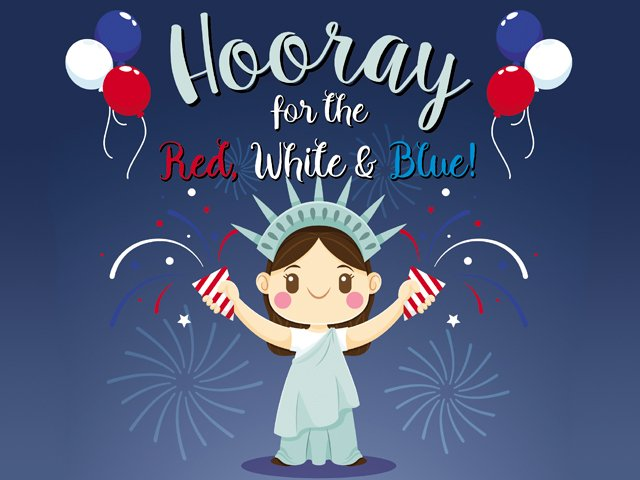 Hooray for Red, White & Blue