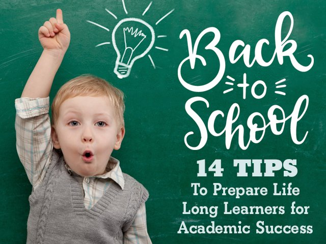 Back to School: 14 Tips to Prepare for Academic Success