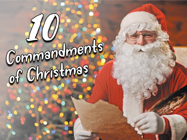 10 Commandments of Christmas