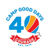 Camp Good Days 40 Year Logo