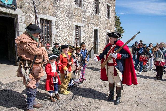 Recruitment at Old Fort Niagara