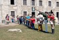 """Recruits with MusketsVisitors can """"enlist"""" in the army and battle it out with wooden muskets at 'Patriots' Day Weekend,' April 27 and 28, at Old Fort Niagara."""