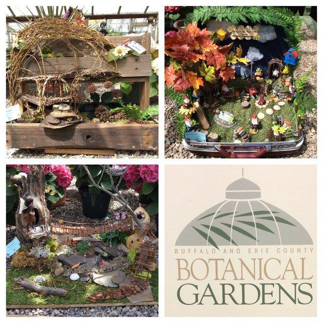 Botanical Gardens Fairy Houses