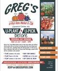Greg's U-Plant U-Pick