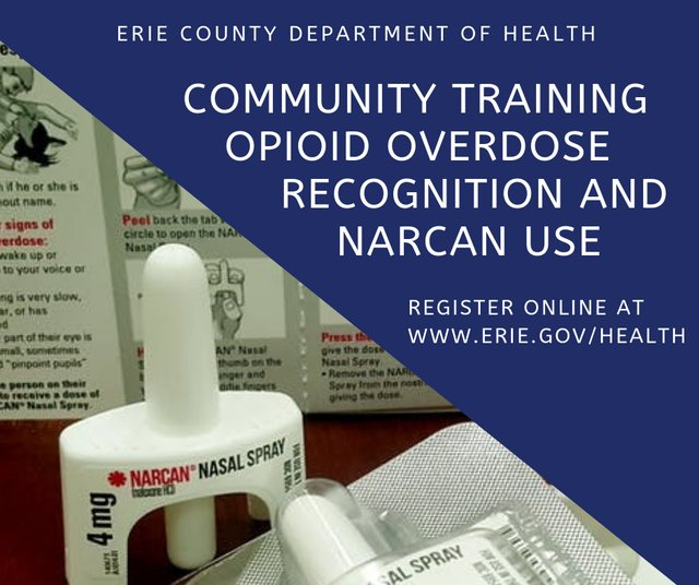 Opioid Training Narcan Spray Use