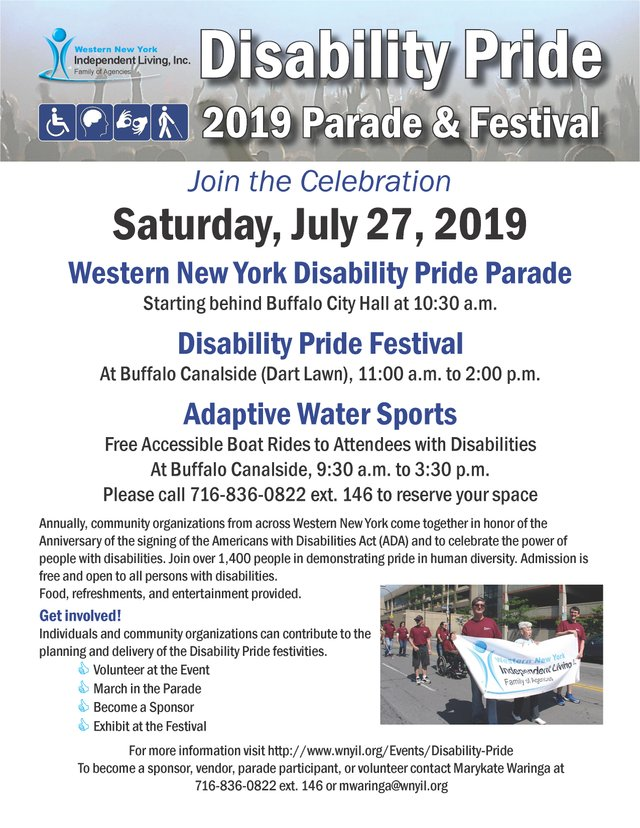 2019 Disability Pride Parade and Festival