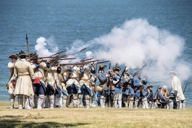 Reenactment at Old Fort Niagara