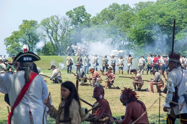 French & Indian War Battle (3)