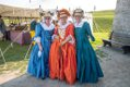 Ladies In Costume at Old Fort Niagara
