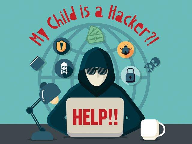 My child is a hacker