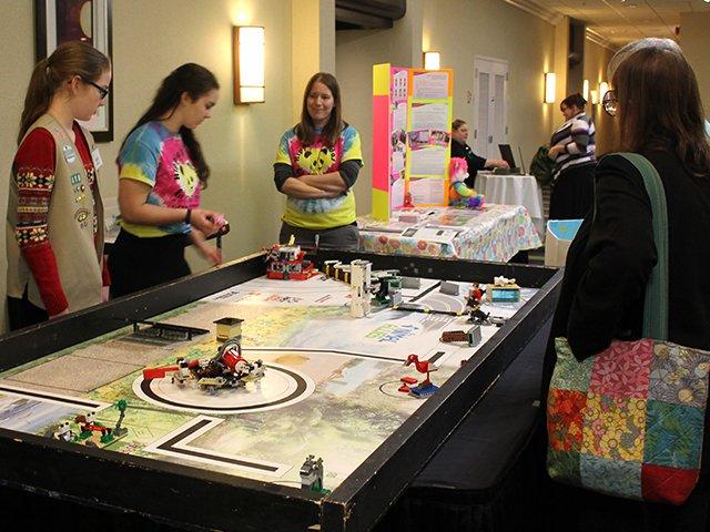 Girl Scouts Robotics