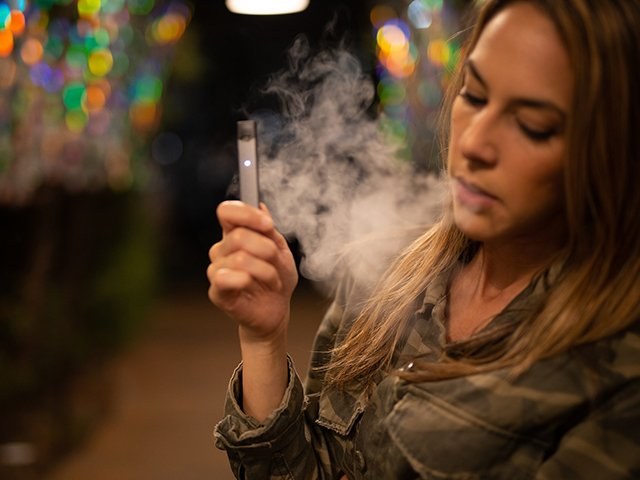 Vaping Girl