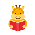 Giraffe Reading