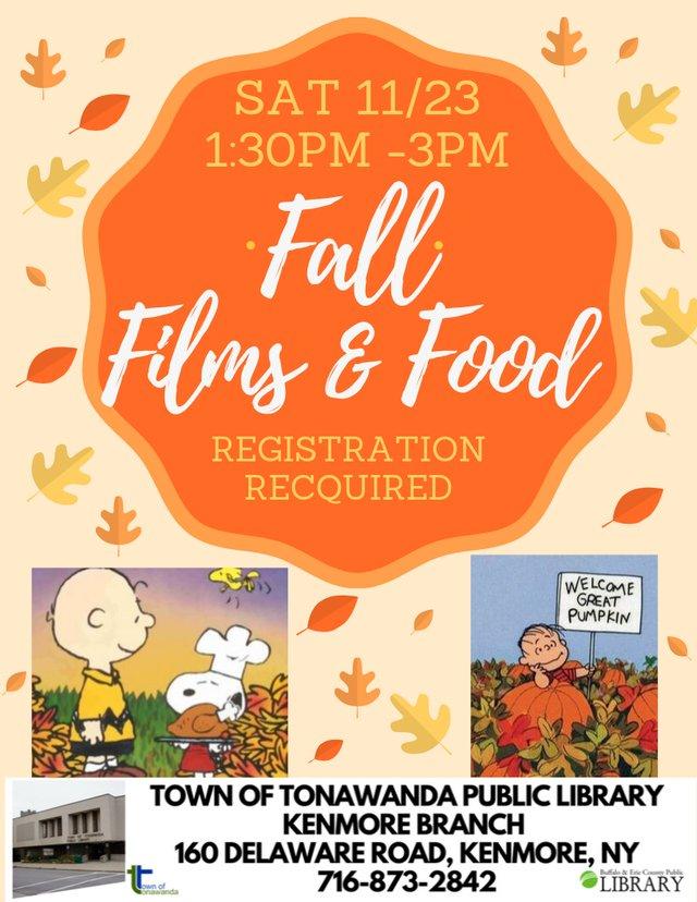 Fall Films & Food