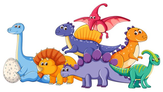 different dinosaur characters