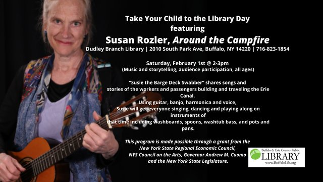 Take Your Child to the Library Day featuring Susan Rozler, Around the Campfire (1).png
