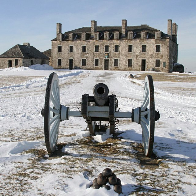Old Fort Niagara in Winter