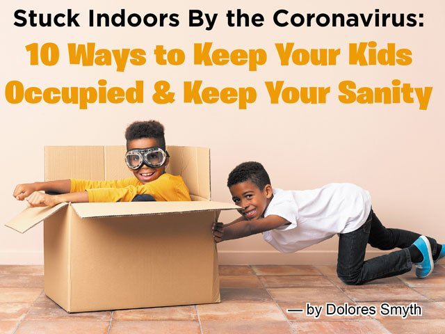 10 ways to keep your kids occupied