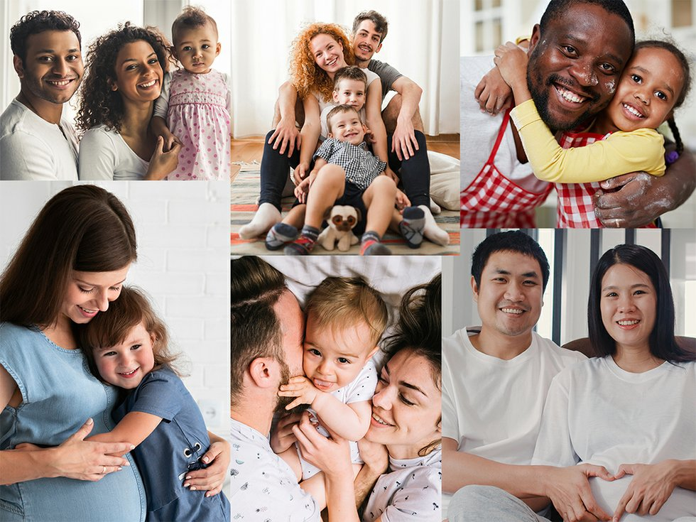 About Us Families Collage 2020