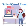 Online Virtual Event