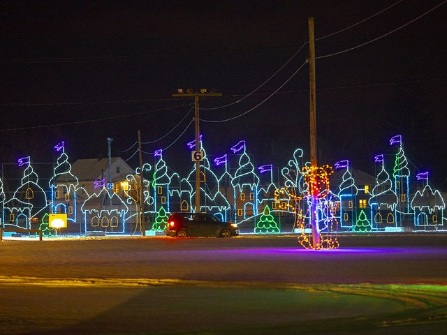 Village in Lights