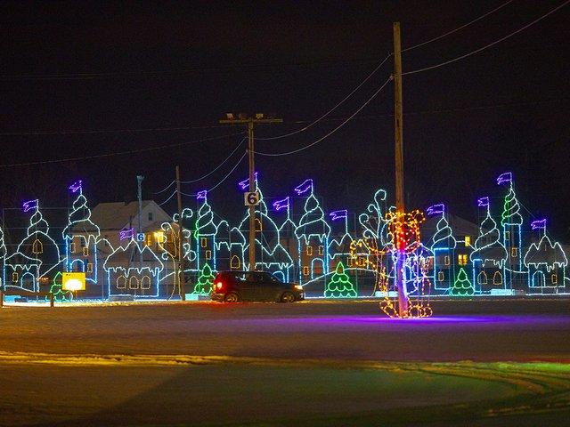 Village in Lights