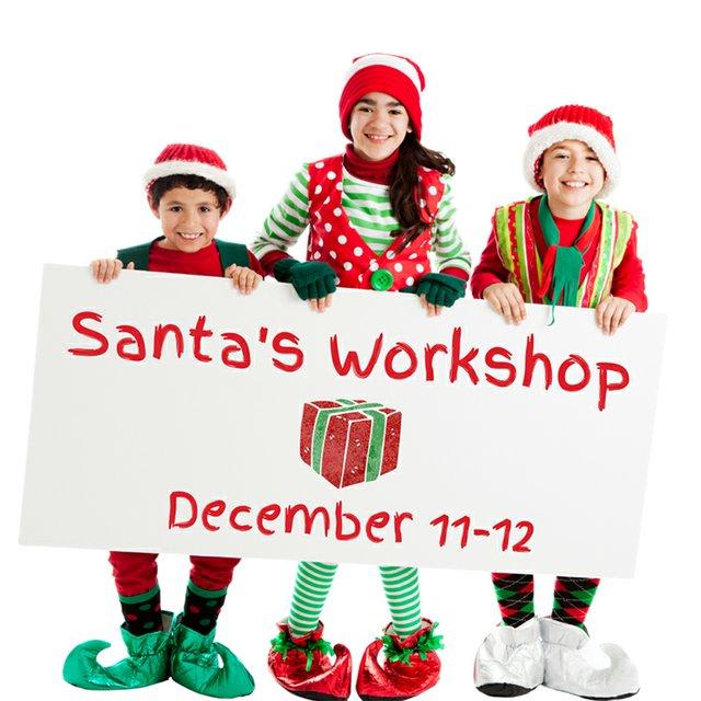 Santa's Workshop at The Gardens