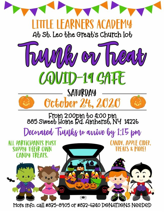 Little Learners Trunk or Treat