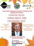 Contactless Food Drive Event Flyer