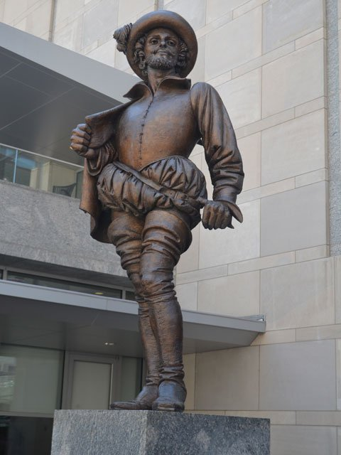 Raleigh - statue