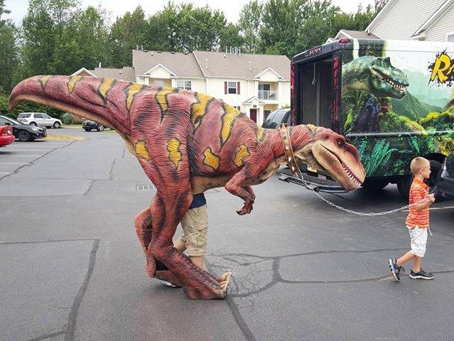 Walking Dino