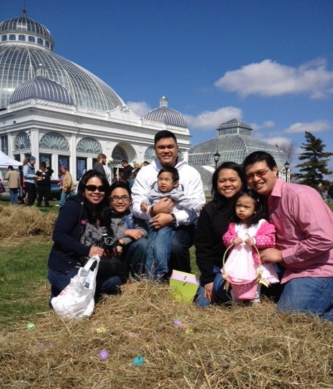 Family at the Gardens