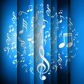 Music Backrgound Curtain