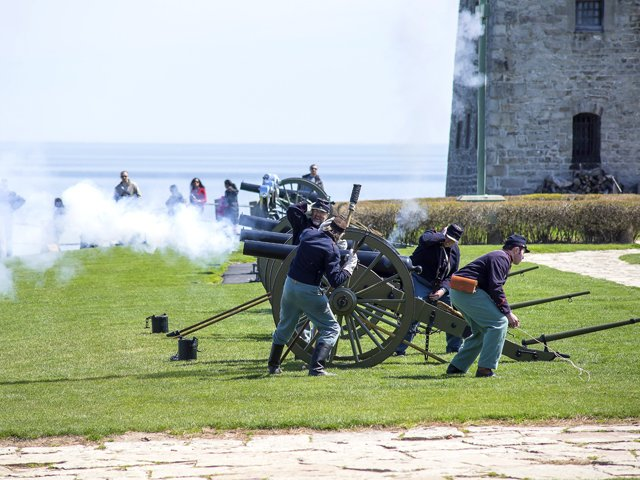Civil War Artillery Canons
